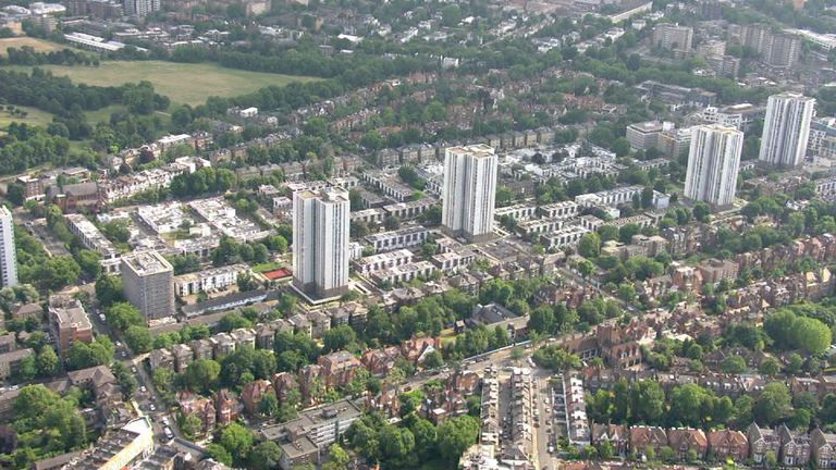 Safety fears remain for residents of four Camden tower blocks | UK