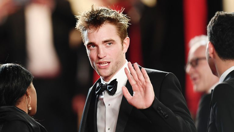 CANNES, FRANCE - MAY 25: Robert Pattinson attends the 'Good Time' screening during the 70th annual Cannes Film Festival at Palais des Festivals on May 25, 2017 in Cannes, France. (Photo by Matthias Nareyek/Getty Images)
