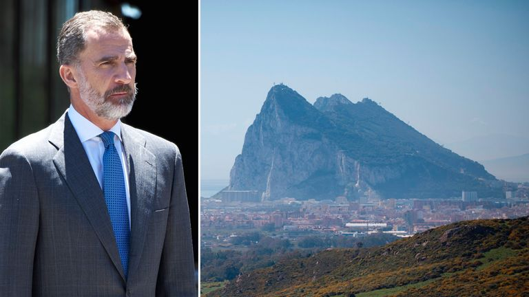 MPs have threatened to walk out of King Felipe's speech if he lays claim to Gibraltar