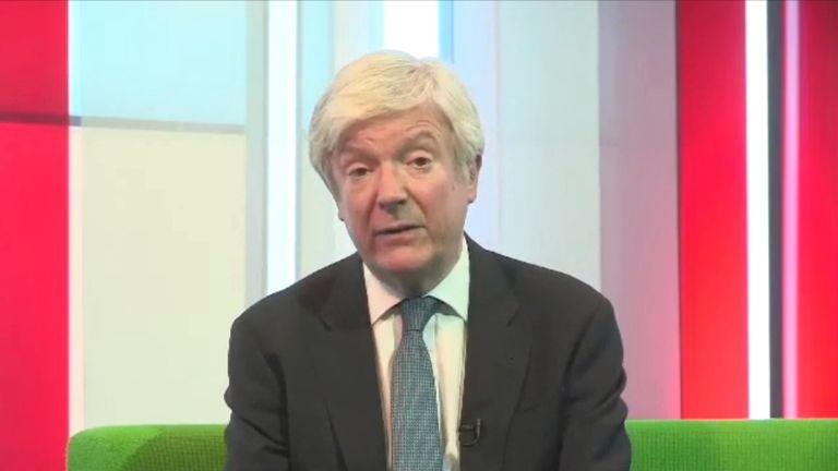 BBC director general, Tony Hall