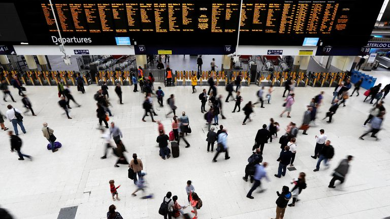 Disruption at London Waterloo is expected to continue until the end of the day
