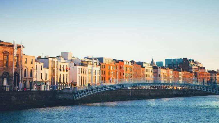A view of Dublin