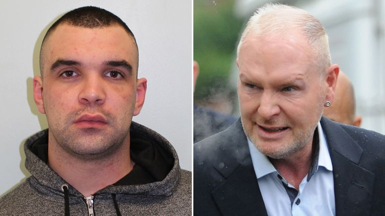 Lewis Beard assaulted Paul Gascoigne at a Shoreditch hotel last December
