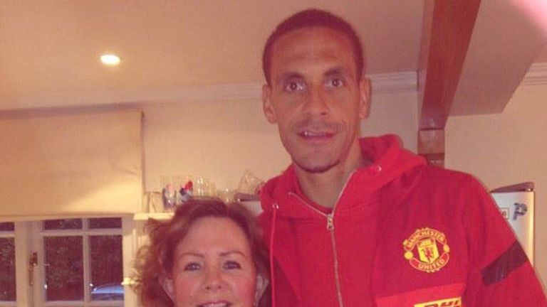 Rio Ferdinand's Instagram tribute to mum who died from cancer