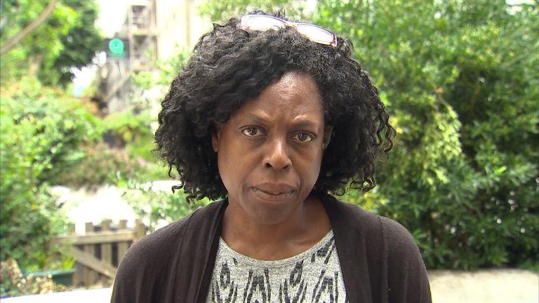 Grenfell co-ordinator Yvette Williams