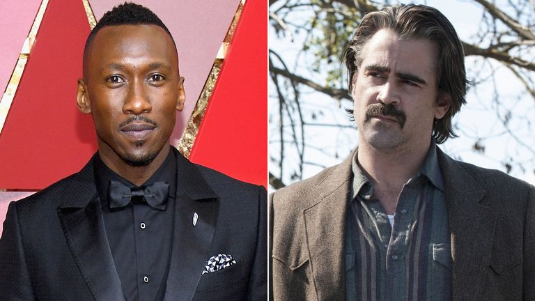 Mahershala Ali and Colin Farrell