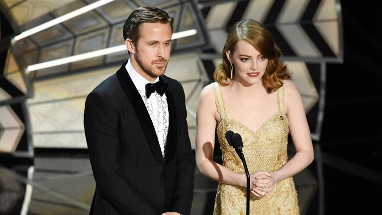 Emma Stone and Syran Gosling starred in La La Land in 2016
