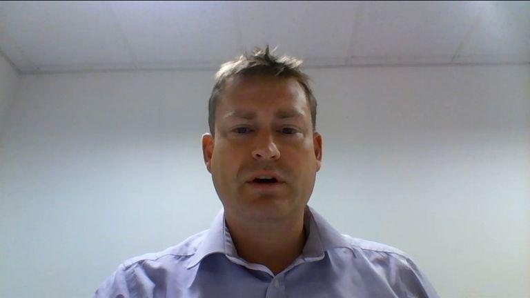 Labour's shadow health spokesman Justin Madders