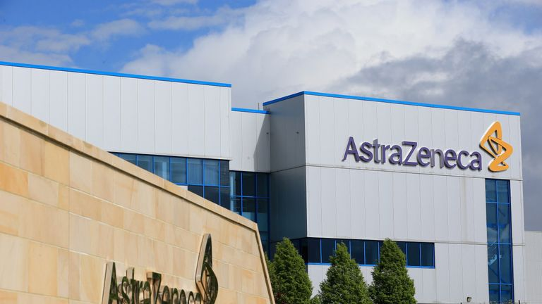 Pharmaceutical giant AstraZeneca