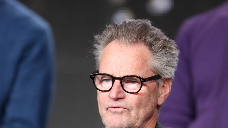 Sam Shepard at a panel discussion in 2014