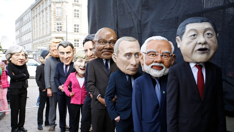 Theresa May left out in the cold ahead of the G20