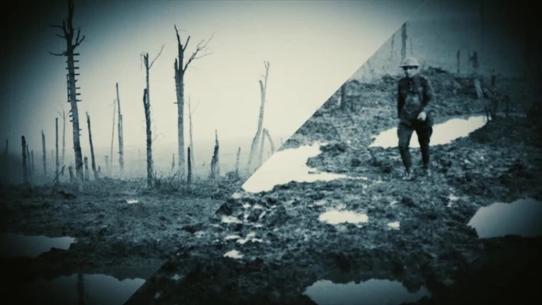 The Battle of Passchendaele in two minutes