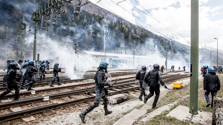 Brenner Pass has long been a hotspot for migrants crossing the border