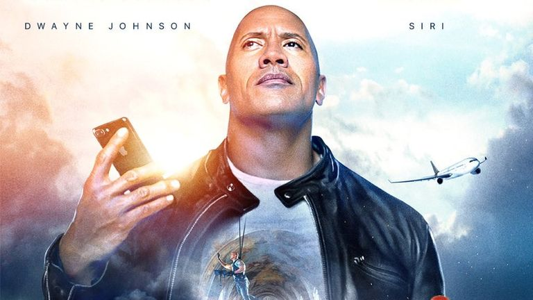 The Rock x Siri: Dominate The Day