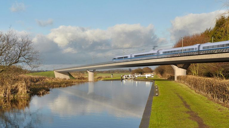 Review could derail £55bn HS2 project