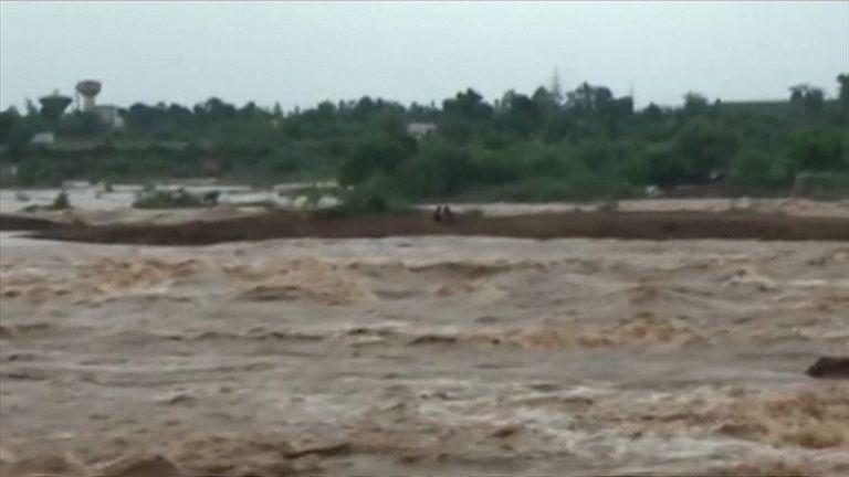 Devastating floods have hit Rajkot, in India