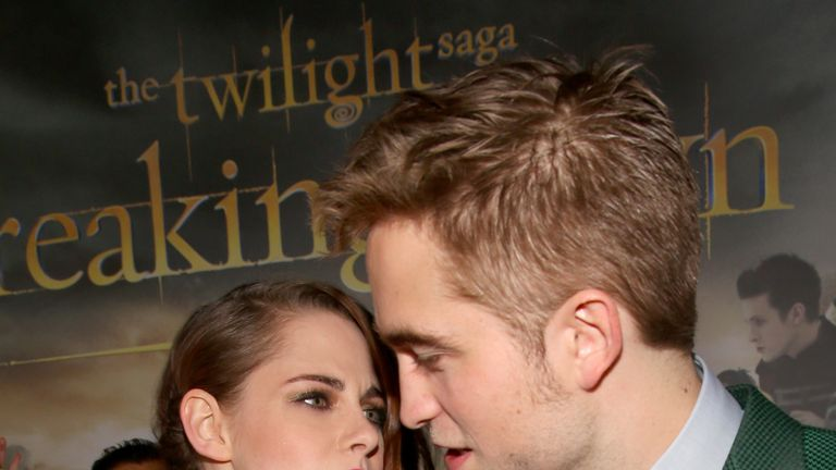 Pattinson and Stewart's relationship was heavily scrutinised by fans and the media