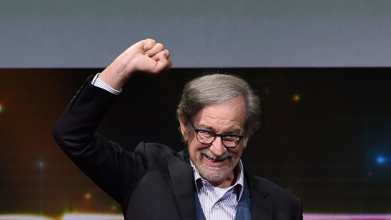 Spielberg at Comic Con 2017 in San Diego California