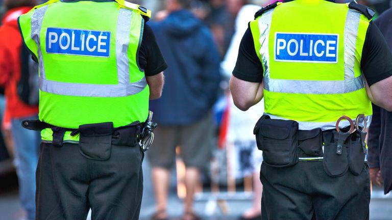 Generic police pic