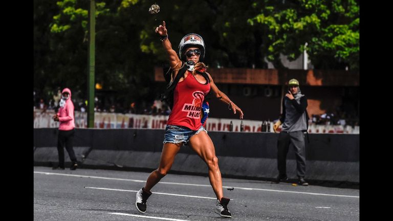 Venezuelan pin-up girl Caterina Ciarcelluti