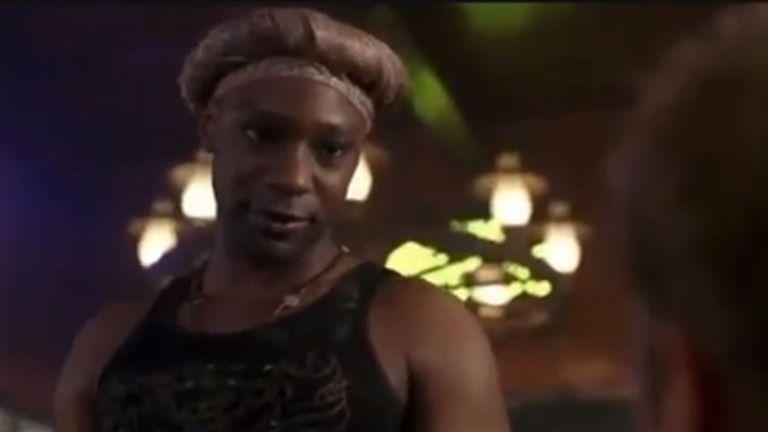 Nelsan Ellis played the part of Lafayette Reynolds in True Blood