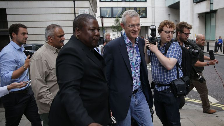 Jeremy Vine emerged as one of the highest paid names in BBC journalism