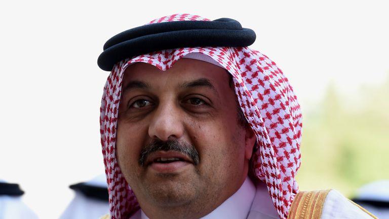 Qatari Foreign Minister Khalid bin Mohammad Al-Attiyah