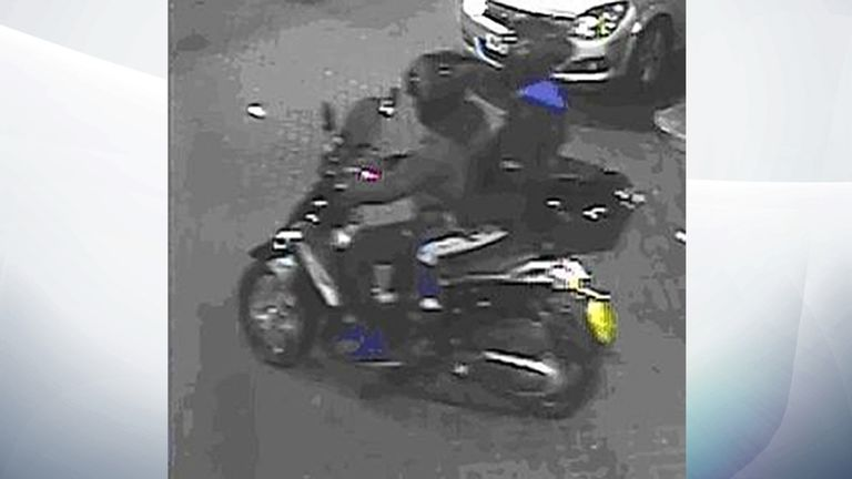 Two of the suspect in Danny Pearce's alleged murder are caught on footage from a CCTV camera