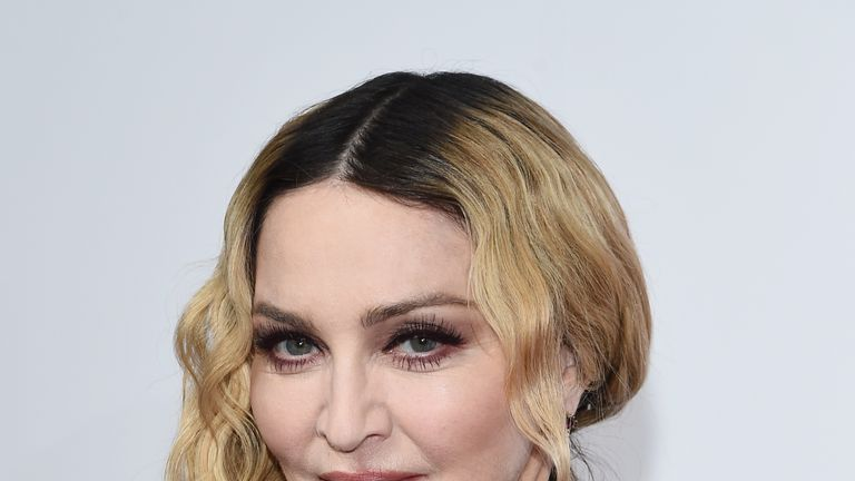 NEW YORK, NY - DECEMBER 09: Madonna attends Billboard Women In Music 2016 Airing December 12th On Lifetime at Pier 36 on December 9, 2016 in New York City. (Photo by Ilya S. Savenok/Getty Images for A+E)