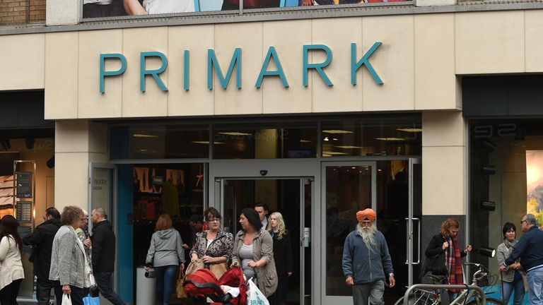 Primark store in Leicester