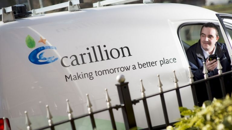 Carillion is a FTSE 250 company. Pic: Carillion