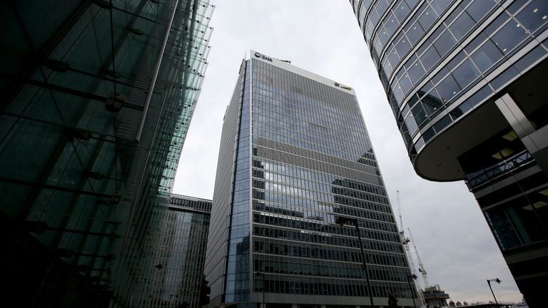 The offices of the European Medicines Agency in London