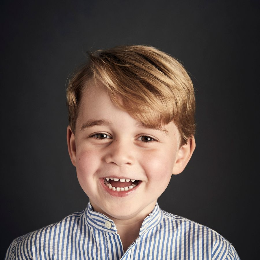 Prince George captured on his fourth birthday by Getty Images Royal Photographer Chris Jackson