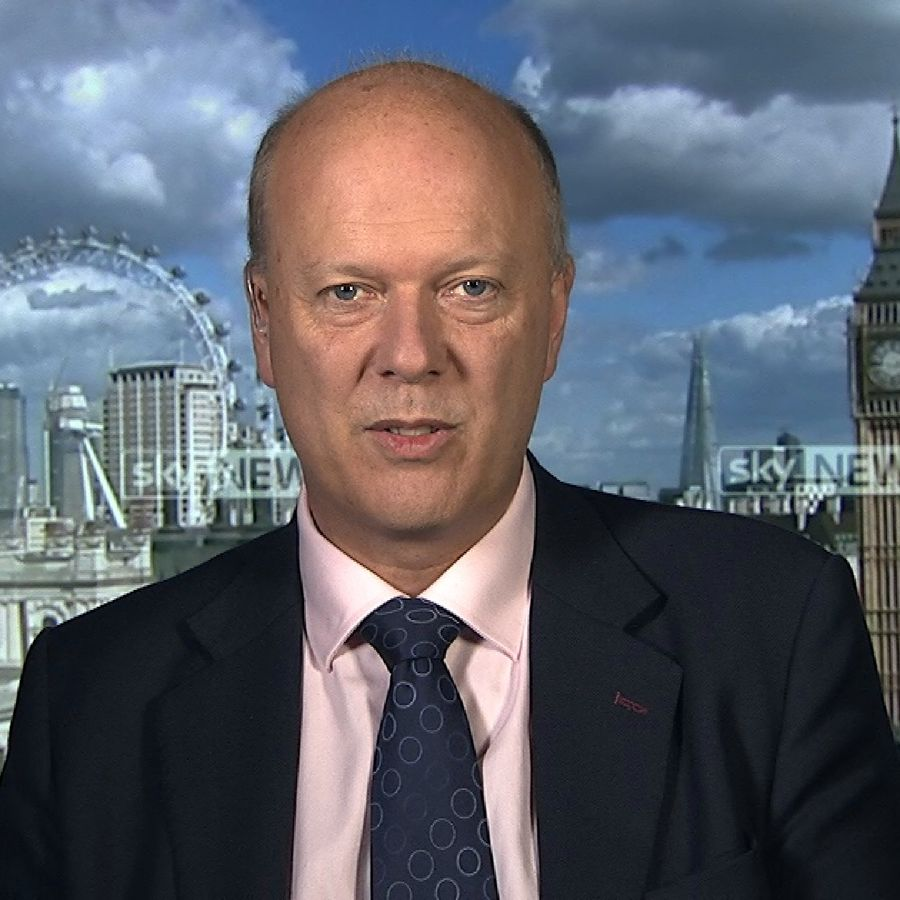 Transport Secretary Chris Grayling moves to ease concerns about troubled Carillion's ability to meet its HS2 contract obligations.