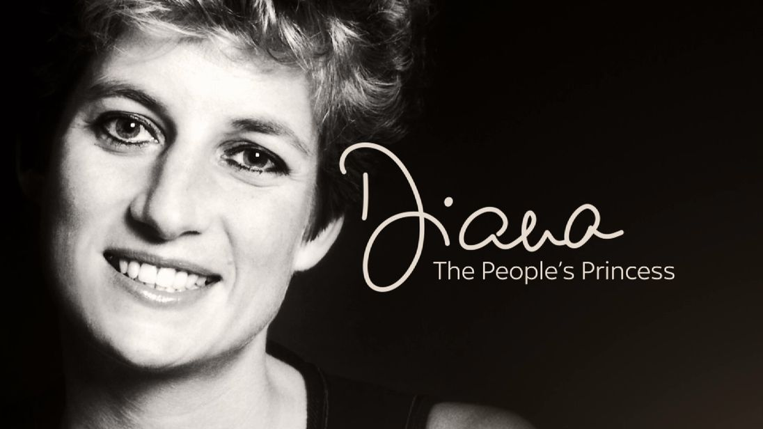 Diana the People's Princess title screen.