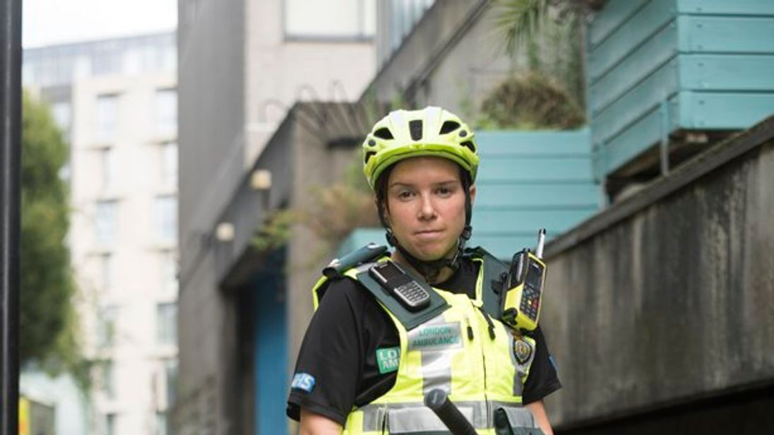 London paramedic uniform