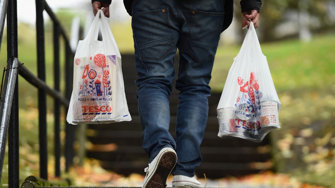 UK Government proposes doubling plastic bag charge to 10p