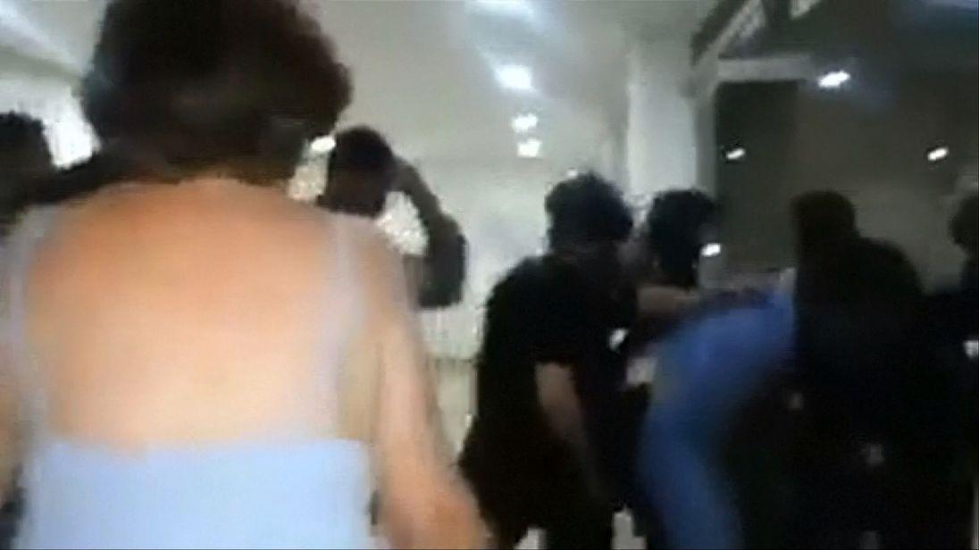 Antonio Ledezma being detained