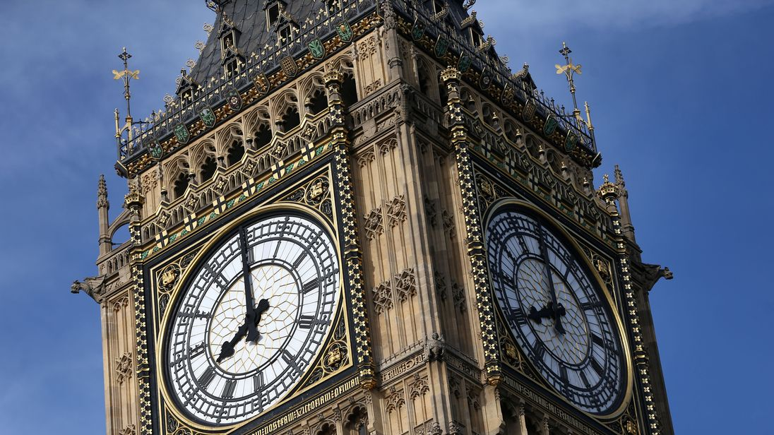 Elizabeth Tower is home to the Great Clock and the 'Big Ben' bell