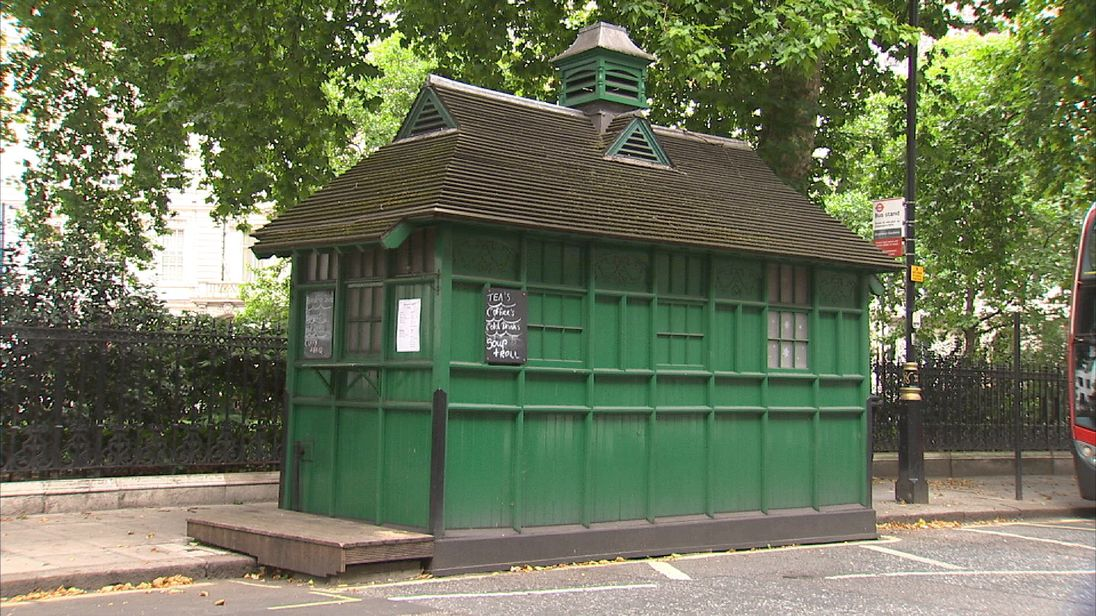 cabbie shelter and 'hobbit home' given grade ii listed status