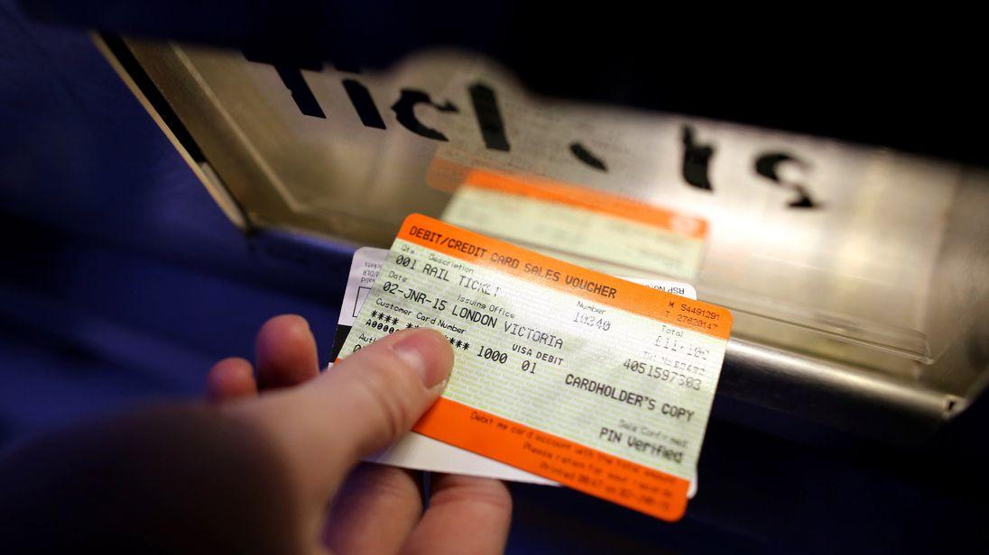 Train tickets