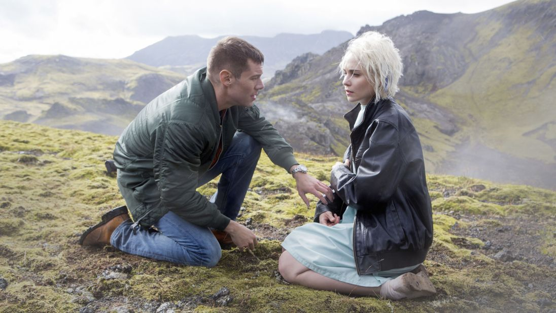 Max Riemelt and Tuppence Middleton in Netflix's cancelled show Sense8