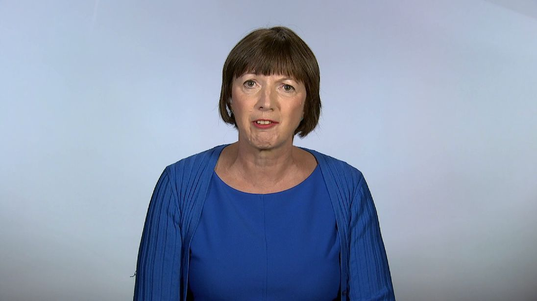 TUC General Secretary Frances O'Grady talking about the government's executive pay plan.