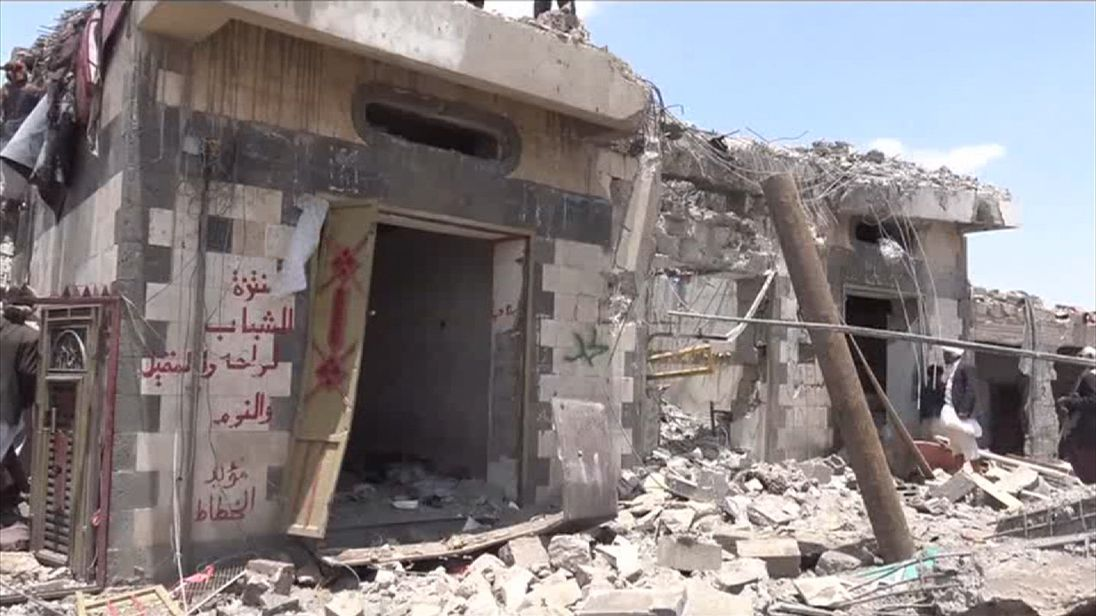 Reports say Saudi-led coalition hit a small hotel in Yemen during airstrikes
