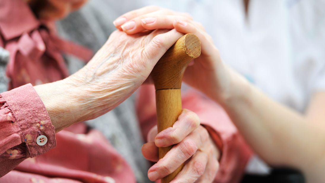 The number of people in care in the UK will almost double by 2035