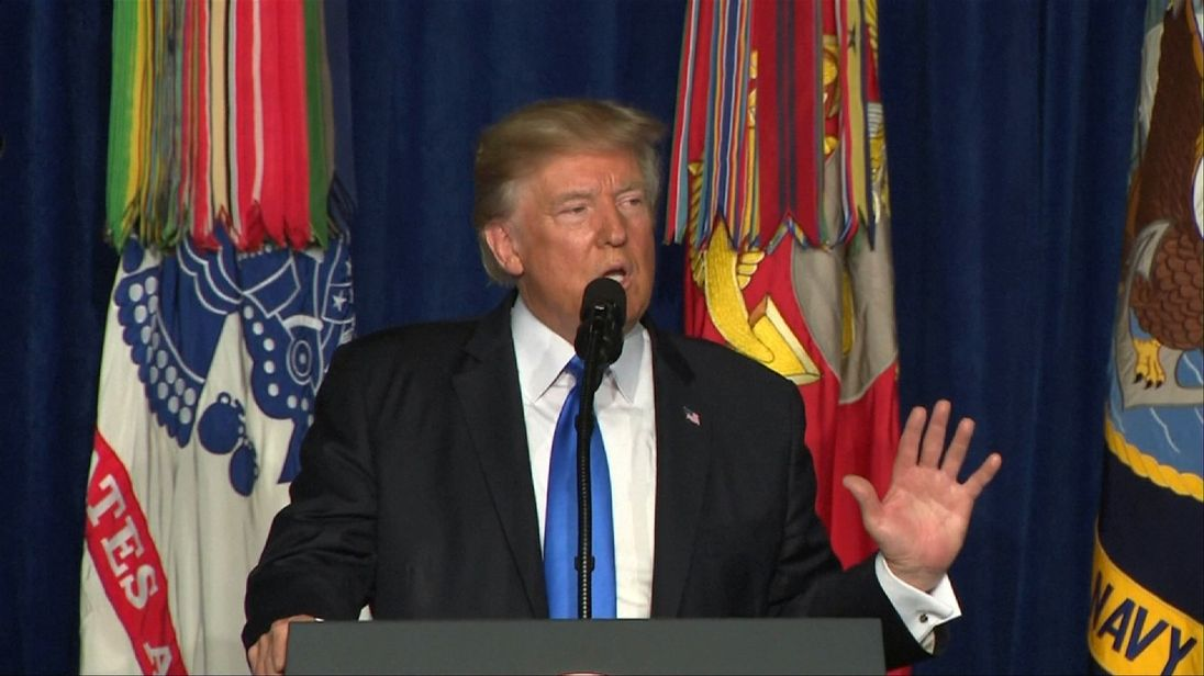 President Trump is committing more troops to Afghanistan