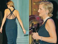 Jan 1995: Diana attends an awards ceremony for the Council of fashion Designers of America, in New York