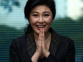 Ex-Thai prime minister Yingluck Shinawatra