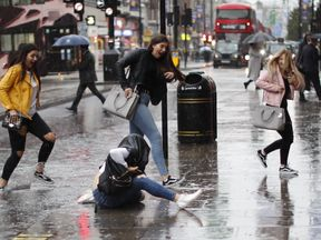 Rain in London 09/08/17