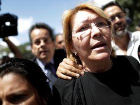 Luisa Ortega declared herself 'under siege' before being sacked from her job
